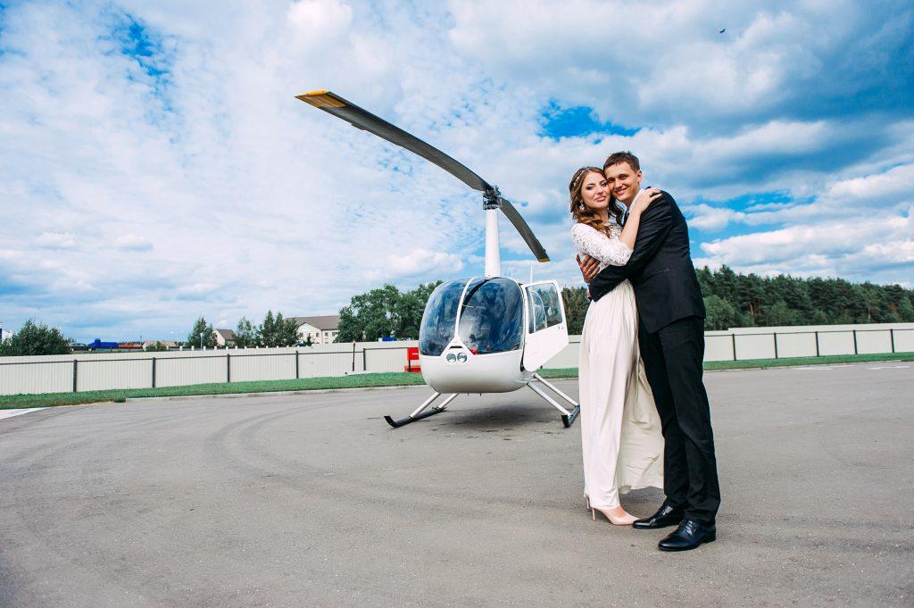 noleggiare elicottero matrimonio
